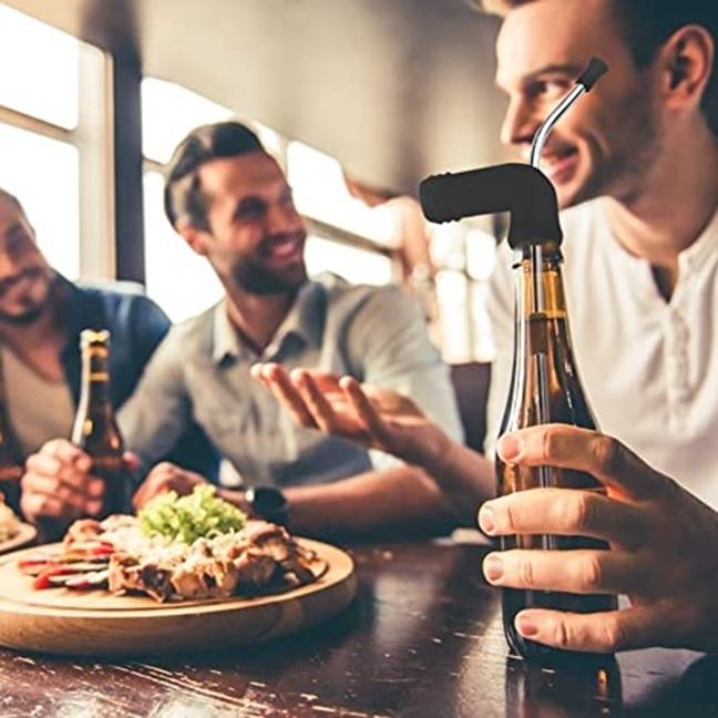 Partying in Style - Beer Snorkel